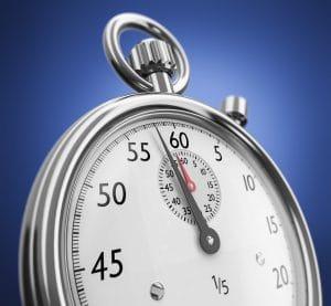 image of analogue stopwatch