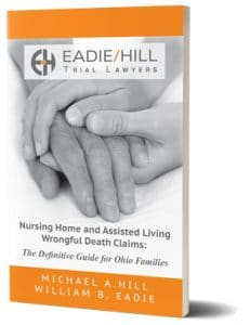 Nursing Home and Assisted Living Wrongful Death Claims Book Cover three dimensional with shadow