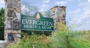 Evergreen sign
