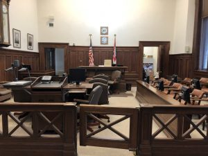 Summit County Courthouse Courtroom